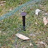 Nishore PE Teichnetz 12 x 12 m Laubnetz Teichabdecknetz Laubschutz Netze aus 100% Polyethylen Reißfest UV-beständig