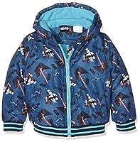 Disney Boy's Star Wars Coat, Blue (Blue Vacances), 6 Years