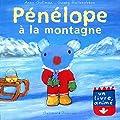Pénélope à la montagne - Un livre animé