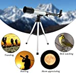 ORPIO 90X High Power Refractor Monocular Astronomical HD Telescope Space Spotting Scope for Kids with Portable Tripod...