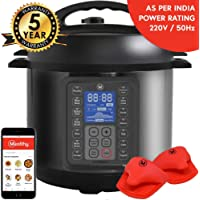 Mealthy MultiPot 9-in-1 Programmable Electric Pressure Cooker with Stainless Steel Pot, Steamer Basket and Instant Access to Mealthy recipe App. Pressure Cook, Slow Cook, Saute, Rice Cooker, Yogurt & Steam.