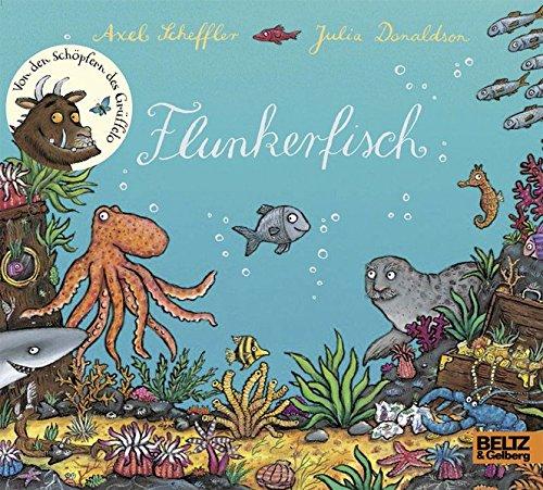 Flunkerfisch: Vierfarbiges Pappbilderbuch
