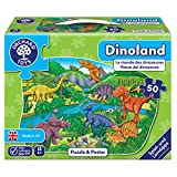 Orchard Toys 10240 - Puzzle, Dino Land, 50 Teile, 58 x 40 cm