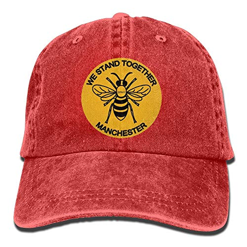 Bikofhd Manchester Bee We Stand Together Unisex Cowboy Cap Customized for Man and Woman Multicolor67