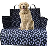 WeFine Car Boot Liner for Dogs Universal Waterproof Car Boot Cover with Bumper Flap Fits Cars, 4x4, Estate, Trucks…