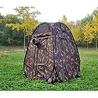 Carpa BGBG Single Hide Portable Privacy Observación al Aire Libre Pop Up Carpa Camuflaje/Función UV Fotografía al Aire Libre Carpa Watching Bird China Camuflaje