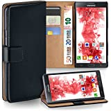 OneFlow PREMIUM - Book-Style case in a wallet design with stand function - for Samsung Galaxy Note 3 - DEEP-BLACK