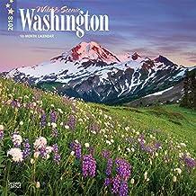 2018 Washington, Wild & Scenic Wall Calendar