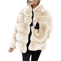 BaZhaHei Giacca Donna,Autunno Inverno Cappotti di Visone da Donna Cappotti Invernali di Nuova Giacca in Pelliccia…