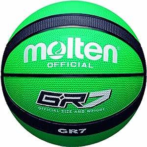 Molten BGR7-GK - Basketball, grün/schwarz, Größe 7