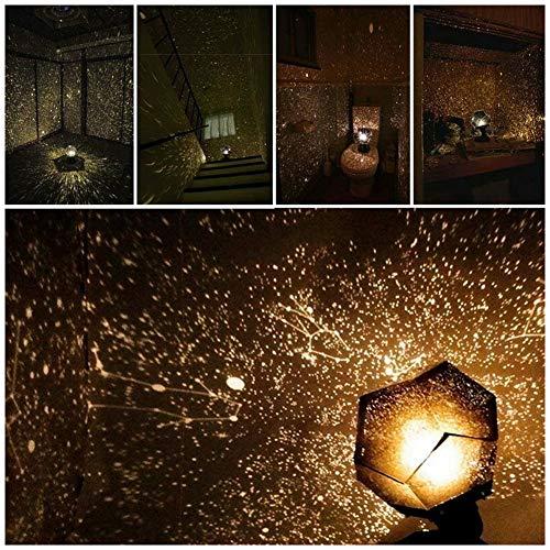 Zooarts Christmas Sale! 60,000 stars Original Home Planetarium caronan - Sternenhimmel Projektor lampe - Romantische Stern-Nachtlichter Projektor-Nachtlampe Sternenhimmel
