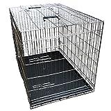 Nemaxx Cage pour chien pliable et transportable taille XL argent