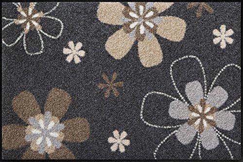 Florentina waschbare Fußmatte Salonloewe Blumenmotiv