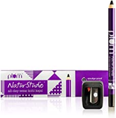 Plum Natur Studio All Day Wear Kohl Kajal, 1.2g with Free Sharpener