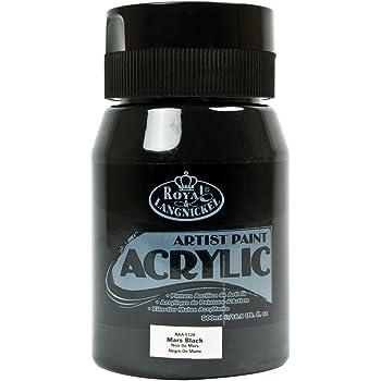 Royal & Langnickel RAA-5120 Essentials 500ml Acrylic Paint - Mars Black