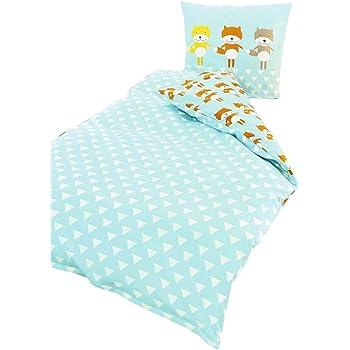 Kinder Bettwäsche 135x200 cm Microfaser oder Baumwolle