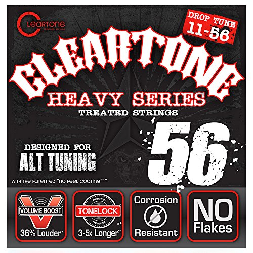 Cleartone Electrics 9456 nickel plated steel Low Tuning, D