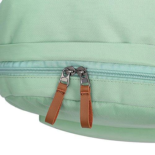 VLike Rücksack Rucksäcke Rucksack Backpack Daypack Schulranzen Schulrucksack Wanderrucksack Schultasche Rucksack für Schülerin Mädchen (Hell Grün) - 7