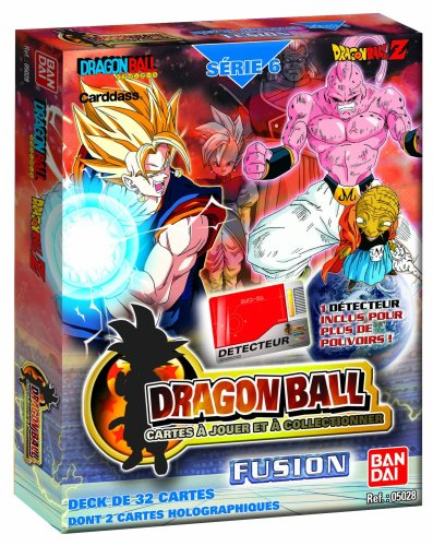 Ball Z Dragon Karten Spielen (Bandai–Deck 32Karten–Dragon Ball Z–Starter Serie 6Display–Fusion)