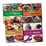 Weight Watchers 4 Books Collection Pack Set RRP: £59.96 (Cook Smart Desserts, Cook Smart Vegetarian, Cook Smart Baking, Cook Smart Nice & Spicy)