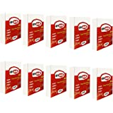 10 Risme CARTA A5 80gr DA 500 Fogli Carta Bianca per Fotocopie Stampante e Ricette Mediche, Formato 14,8x21cm