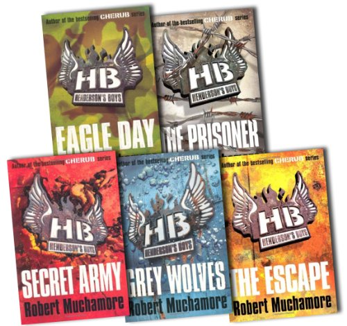 Hendersons Boys Collection Robert Muchamore 5 Books Pack Set RRP: 34.95 (Gre...