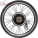 China Electric Bicycle 36/48V 1000W 20', 24', 26', 700C, 28', 29er Rear Wheel Driving Brushless Gearless Hub Motor
