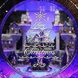 Worsworthy Fensteraufkleber Weihnachten Wandaufkleber,Weihnachtsdeko Merry Christmas Schaufensterdekoration Weihnachtssticker Wandaufkleber AufkleberWand Aufkleber Xmas Dekoration