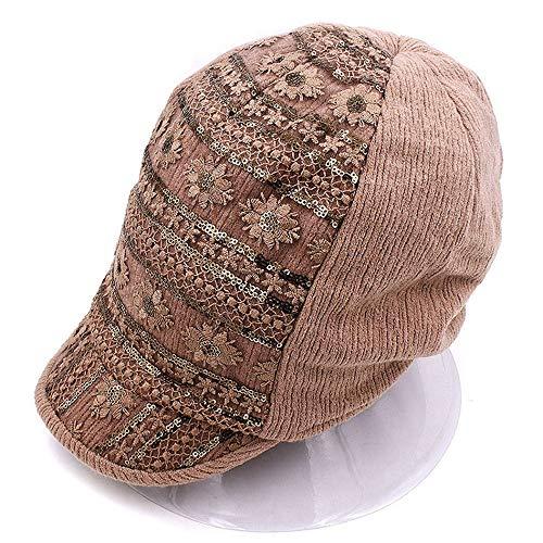 la Femme est Hat Canard Hiver Cyclisme pac Octagonal Duck Langue Grand Code chaleureuse épais épais mère Hat