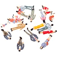 Generic 20pcs Painted Model Train Passenger People Figures Scale 1:25