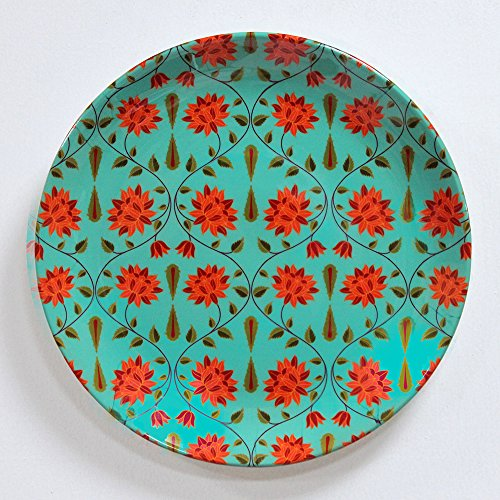 KOLOROBIA BABUR INSPIRED HOME DÉCOR WALL PLATE 7.5