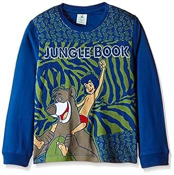 Jungle BookBoys' T-Shirt (51GC8626_Navy _2 - 3 years)