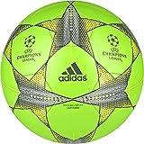 adidas Champions League Finale Capitano - Balón, Color Verde / Gris / Amarillo, Talla: 5