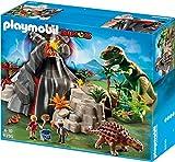Playmobil - Volcán con Tiranosaurius, set de juego (5230)
