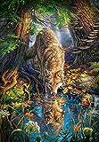 Castorland C-151707-2 Wolf in The Wild, 1500 Teile Puzzle, bunt