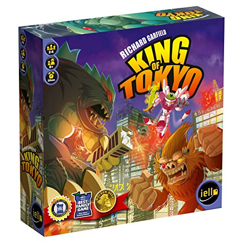 Unbekannt Iello 51032 - King of Tokyo, Brettspiel