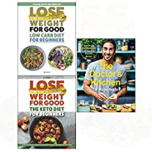 Doctor's kitchen, low carb diet, keto diet 3 books collection set