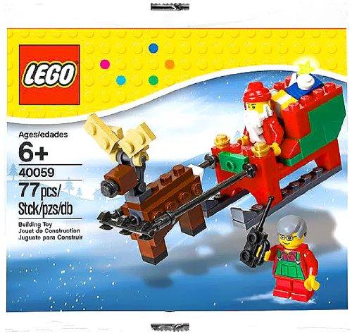 lego-saisonal-weihnachtsmann-und-sleigh-setzen-40059-beutel