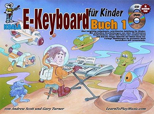 E-Keyboard für Kinder (Buch/CD/DVD/Poster)