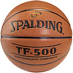 Spalding TF500 In/Out Balón de baloncesto, Unisex adulto, Ladrillo, 7