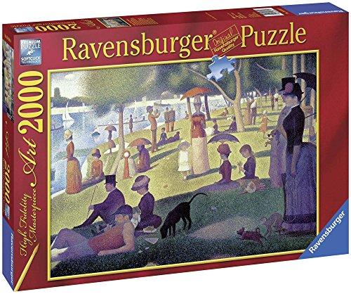 Ravensburger - Seurat Tarde de Domingo en la Isla de la Grande Jatte, puzzle de 2000 piezas (16616 9)