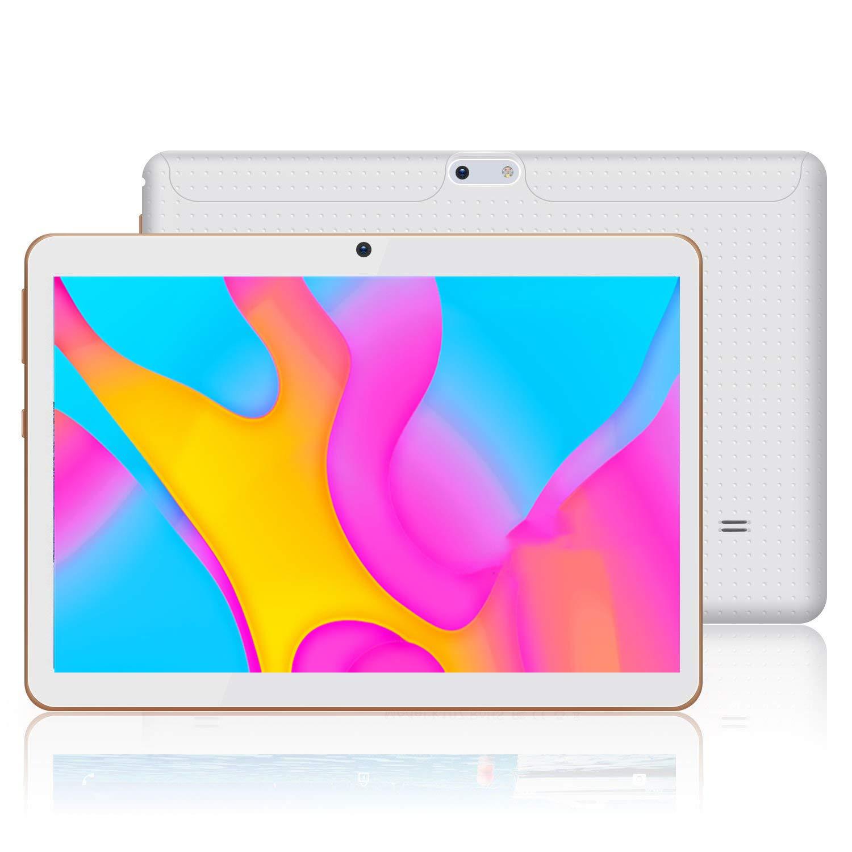 Tablet 10 Pulgadas YOTOPT, 4GB de RAM y 64 GB de Memoria, Android 8.1 Dobles SIM y TF, GPS WiFi Soporte