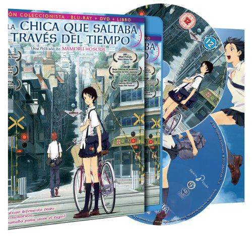 Dibujos Animados, La Chica Que Saltaba A Través Del Tiempo, Edicion Coleccionista Blu-ray + DVD + Libro de 72 Paginas [Blu-ray] 61HS9pAj7DL