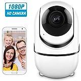 IP ÜberwachungsKamera, 1080P WiFi Ip Kamera Babyphone mit 2 Wege Audio