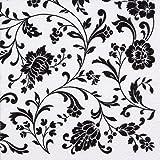 Servietten, Motiv weiß-schwarz, 20 Stück, 33x33cm