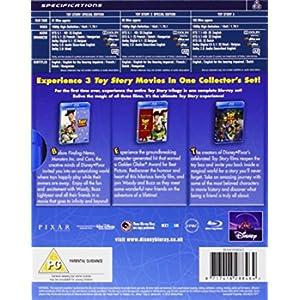 Toy Story Complete Collection (3 Blu-Ray) [Edizione: Paesi Bassi] [Edizione: Regno Unito]