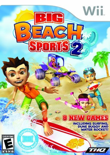 Big Beach Sports 2 - Nintendo Wii by THQ (Wii-big Beach Sports)