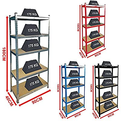 Home Discount Large 5 Tier Shelves - inexpensive UK light shop.