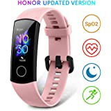"""HONOR Band 5 Fitness Trackers Activity Trackers 0.95"""" AMOLED Color Display Smart Watch 50M Depth Waterproof Real Time Heart Rate Monitor Sleep Monitor SpO2 Blood Oxygen Monitor"""