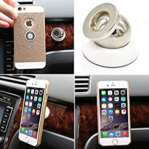 Generic black 2 : Universal car magnetic phone holder for Iphone Holder Samsung Stand Display Support GPS Magnet Mobile iPhone stands car Holder